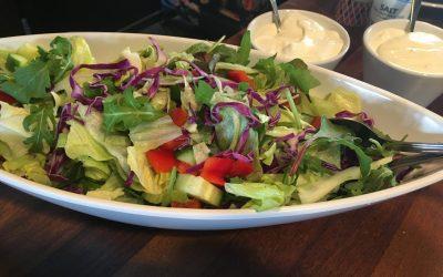 Blandet grøn salat